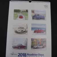 RCOJ  Roadster Days 2018 カレンダー  by Bow.